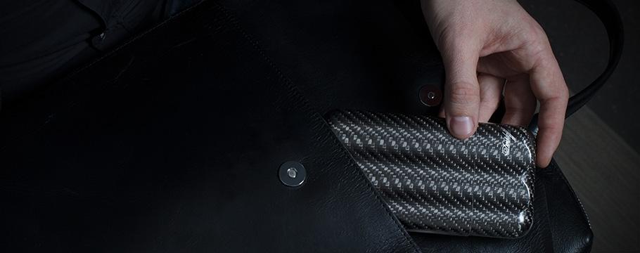 Davidoff Zigarren-Etui Carbon XL