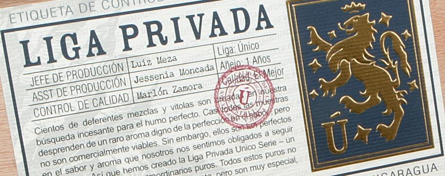 Drew Estate Liga Privada Unico Serie L40
